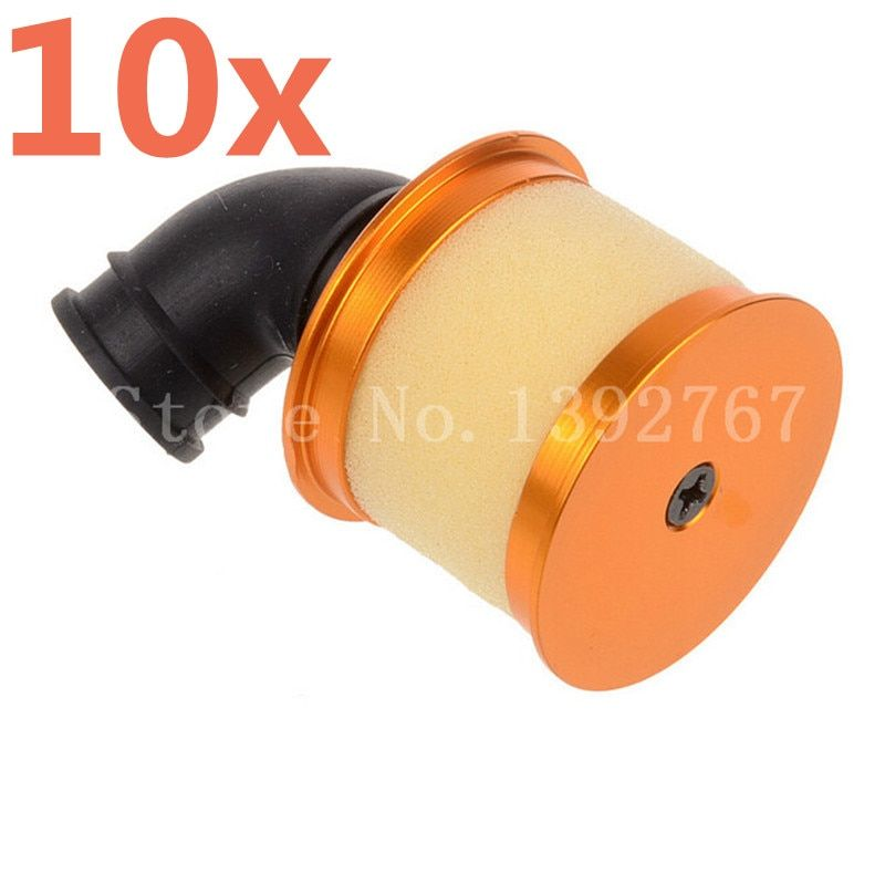 Wholesale 10pcs/lot New HSP 04104 Air Filter Engine Spare Upgrade Parts For Nitro Powered 1/10 R/C Model Car Buggy Truck