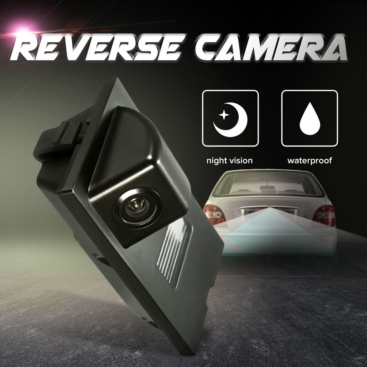 HD CCD Car Reverse Rear View Camera Parking For Land Rover Freelander 2 Discovery 3 4 Range Rover Sport