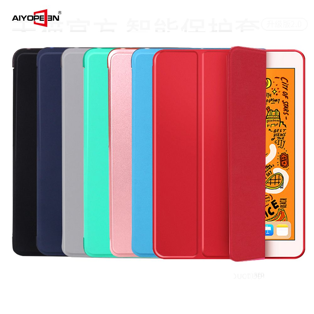 Case for iPad mini 5 2019 cover, Aiyopeen Magnetic PU Leather and Soft TPU Back Smart Cover for iPad mini 1 2 3 4 5 case
