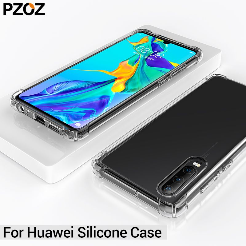 PZOZ huawei mate 20 lite 10 p30 pro case cover honor 8x max huawei mate 10 Silicone Protective Shell hauwei mate 9 case honor 10