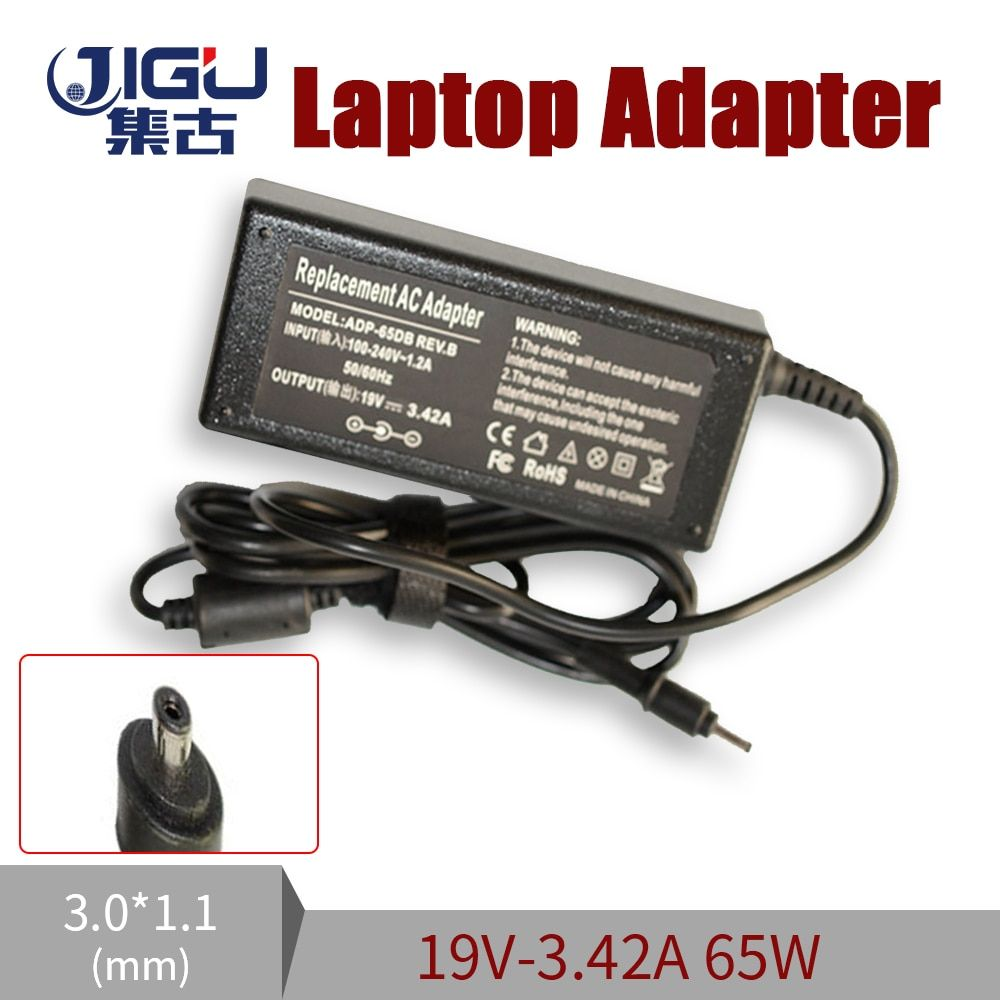 Replacement 19V 3.42A 3.0*1.1MM 65W For Acer W700 W700P S3 S5 S7 Universal Notebook Laptop AC Charger Power Adapter