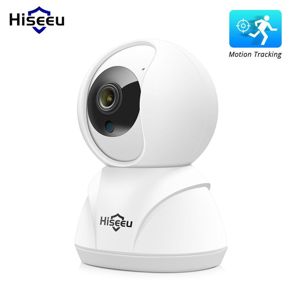 Hiseeu FH3 1080P Home Security IP Camera Wireless Smart WiFi Camera Audio Record Surveillance Baby Monitor HD Mini CCTV Camera