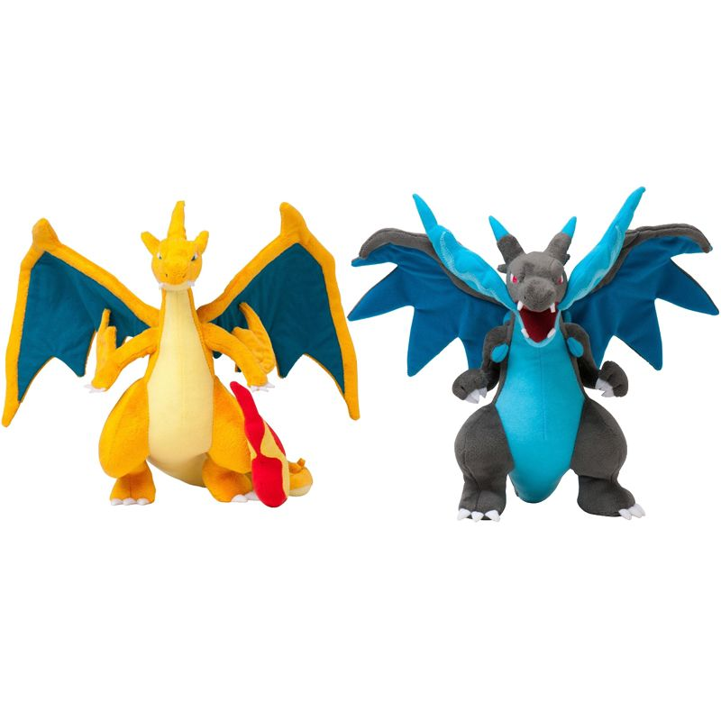 "10"" Plush Doll Stuffed Toy Mega Evolution X Y Charizard kawaii Soft Plush Dolls Cartoon Gift for Kids"