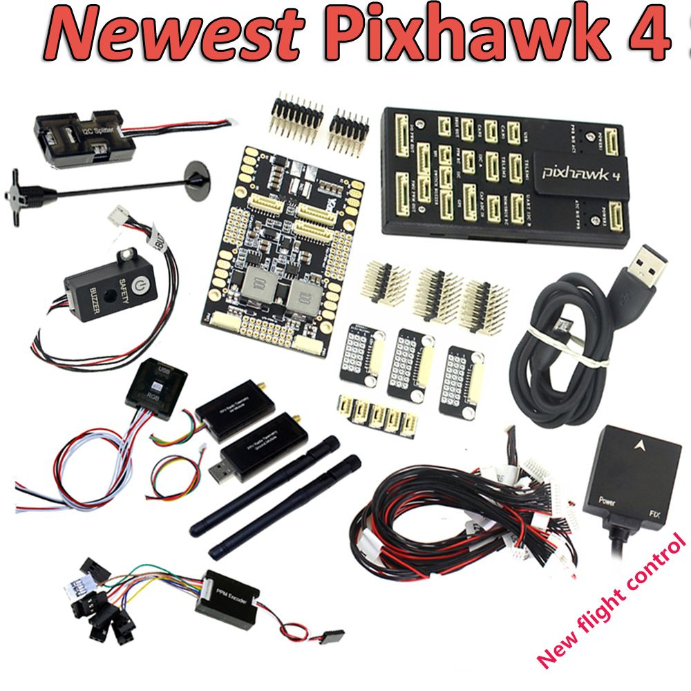 New Pixhawk PX4 PIX 2.4.8 Flight Controller NEO-M8N GPS Radio 100mw 500mw Telemetry OSD 3DR 433Mhz 915Mhz for RC FPV Drone Frame