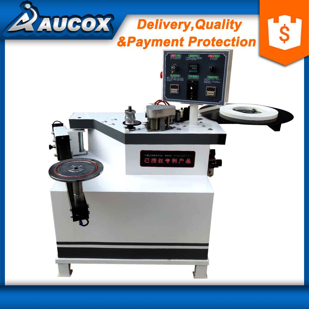 MY98S Arm design curve pvc manual edge banding machine for straight,MDF