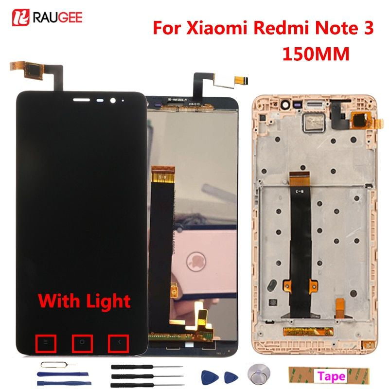 "For Xiaomi Redmi Note 3 Pro LCD Display+Touch Screen 5.5"" Digitizer Assembly Replacement For Xiaomi Redmi Note 3 Pro/Prime Phone"
