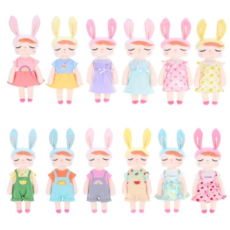 Metoo Plush Toys Angela Dolls Stuffed Animals With Box Dressing Doll Rabbit Cute Dreaming Girl Gift for Kids Children