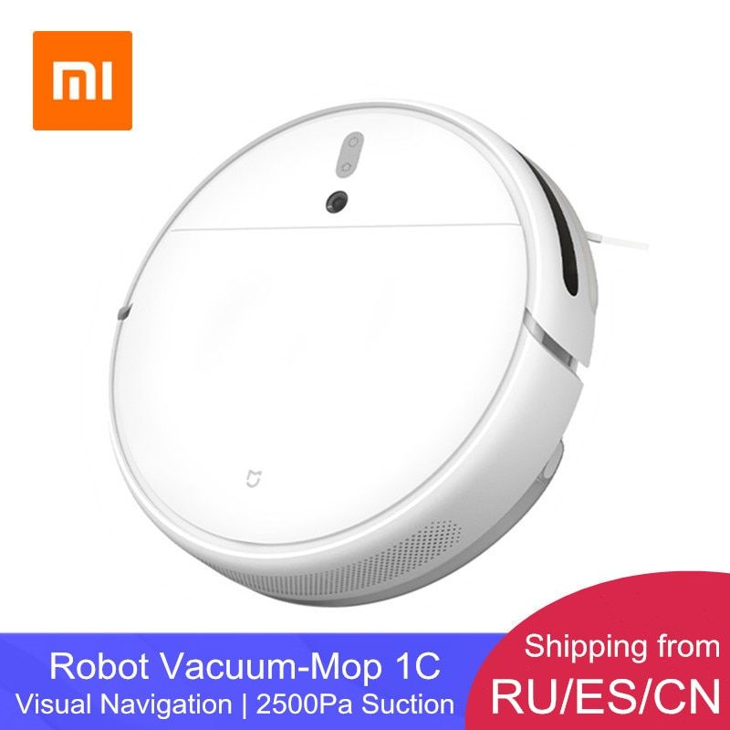 Xiaomi Mijia Robot Vacuum Cleaner 1C STYTJ01ZHM for Home Automatic Dust Sterilize App Smart Control Sweeping Mopping Cleaner