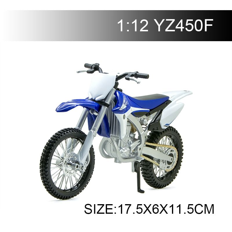 MAISTO YMH YZ450F Off-Road motorcycle model 1:12 scale Motorcycle Diecast Metal Bike Miniature Race Toy For Gift Collection