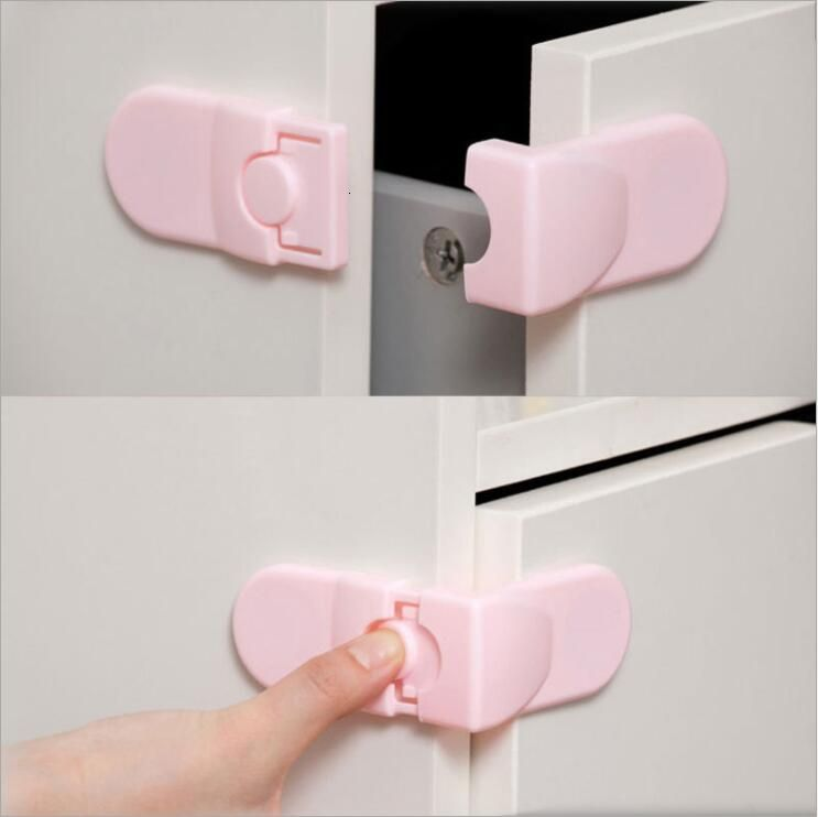 Door Lock drawer Cabinet Wardrobe fridge Baby Safety Kids straps closet Infant security meuble Children meuble protection