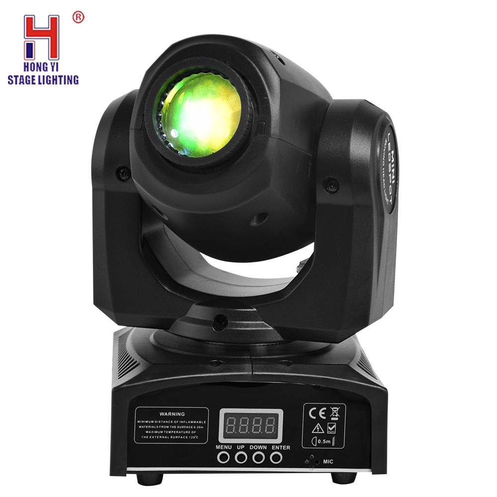 Eyourlife LED Inno Pocket Spot Mini Moving Head Light 30W DMX dj 7 gobos effect stage lights