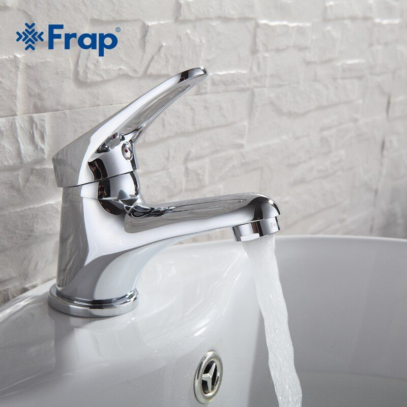 FRAP mini Stylish elegant Bathroom Basin Faucet Brass Vessel Sink Water Tap Mixer Chrome Finish  F1013  F1036