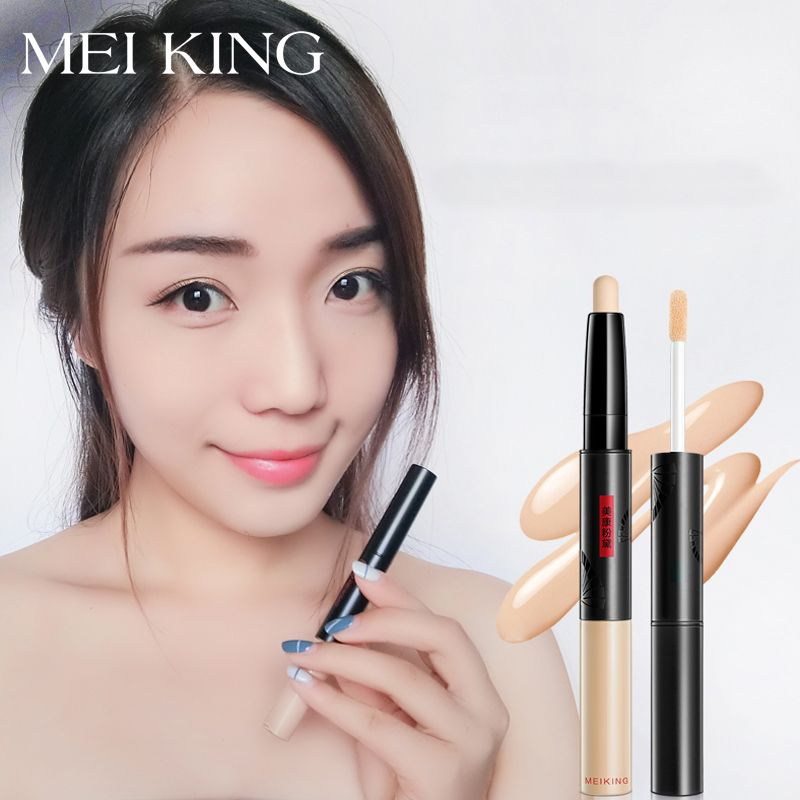 MEIKING Concealer Stick Face Primer  Base Sticker Foundation cream pen  contouring Cover dark circles Makeup acne