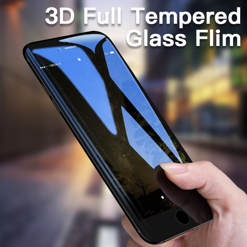 FLOVEME 3D Full Screen Tempered Glass For iPhone 6s 6 Tempered Glass Anti Blue Ray Screen Protector Film For iPhone 6 6S Glass