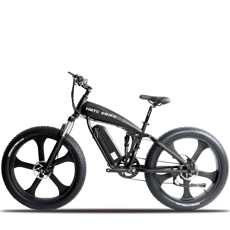 26inch electric mountain Bicycle  48V1000w Motor 26 * 4.0 electric bicycle Soft tail snow mountain bike