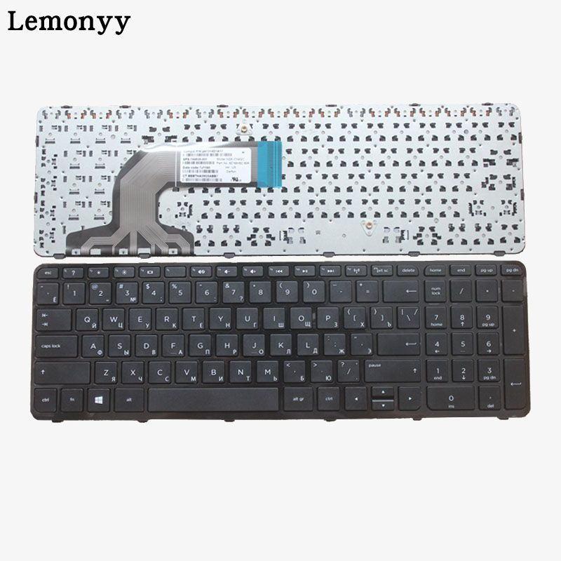 Laptop Keyboard For HP 9Z.N9HSC.601 PK1314D1A00 NSK-CN6SC 749658-251 With Frame Russian RU Version