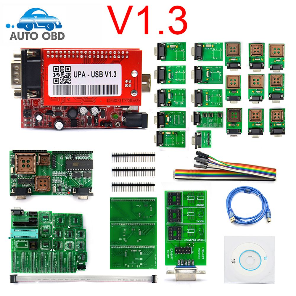 Best qualityUPA 2019 UPA Usb Programmer Diagnostic-tool UPA-USB ECU Programmer UPA USB V1.3 With Full Adapter