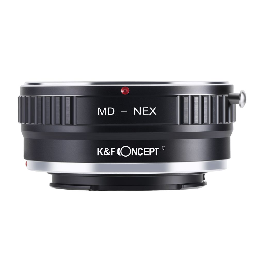K&F CONCEPT Lens Mount Adapter for Minolta MD Lens to Sony NEX E-Mount Camera for Sony NEX-3 NEX-3C NEX-5 NEX-5C NEX-5N NEX-5R