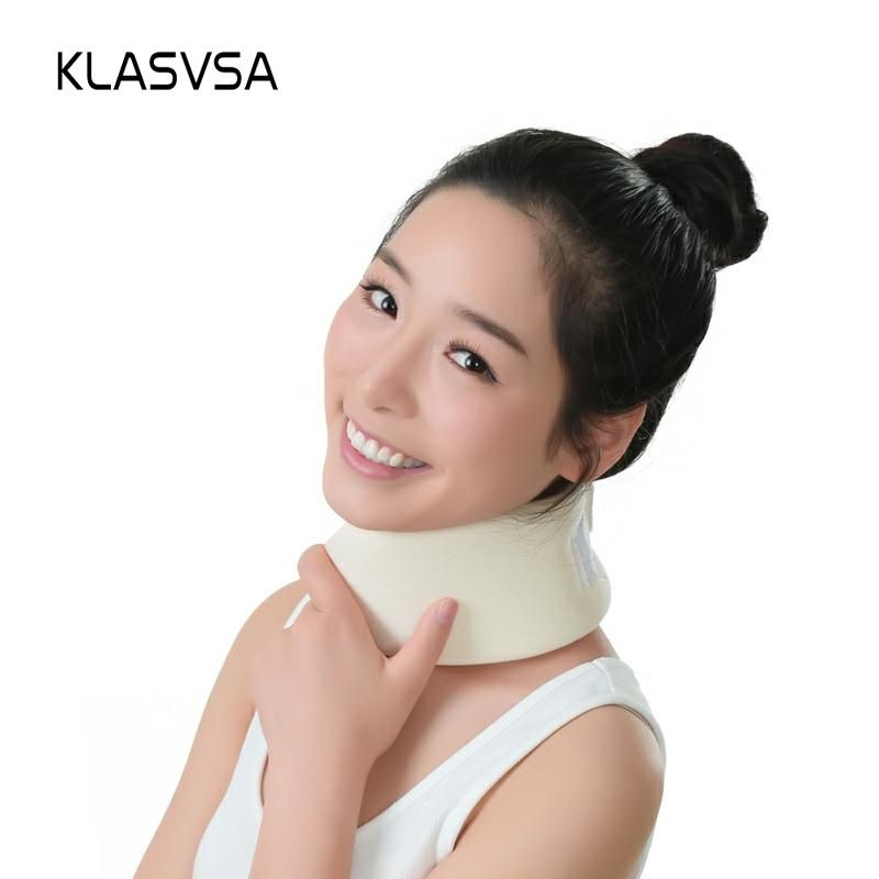 KLASVSA Soft Foam Cervical Traction Neck Support Brace Massager Shoulder Relaxation Pain Relief Health Care