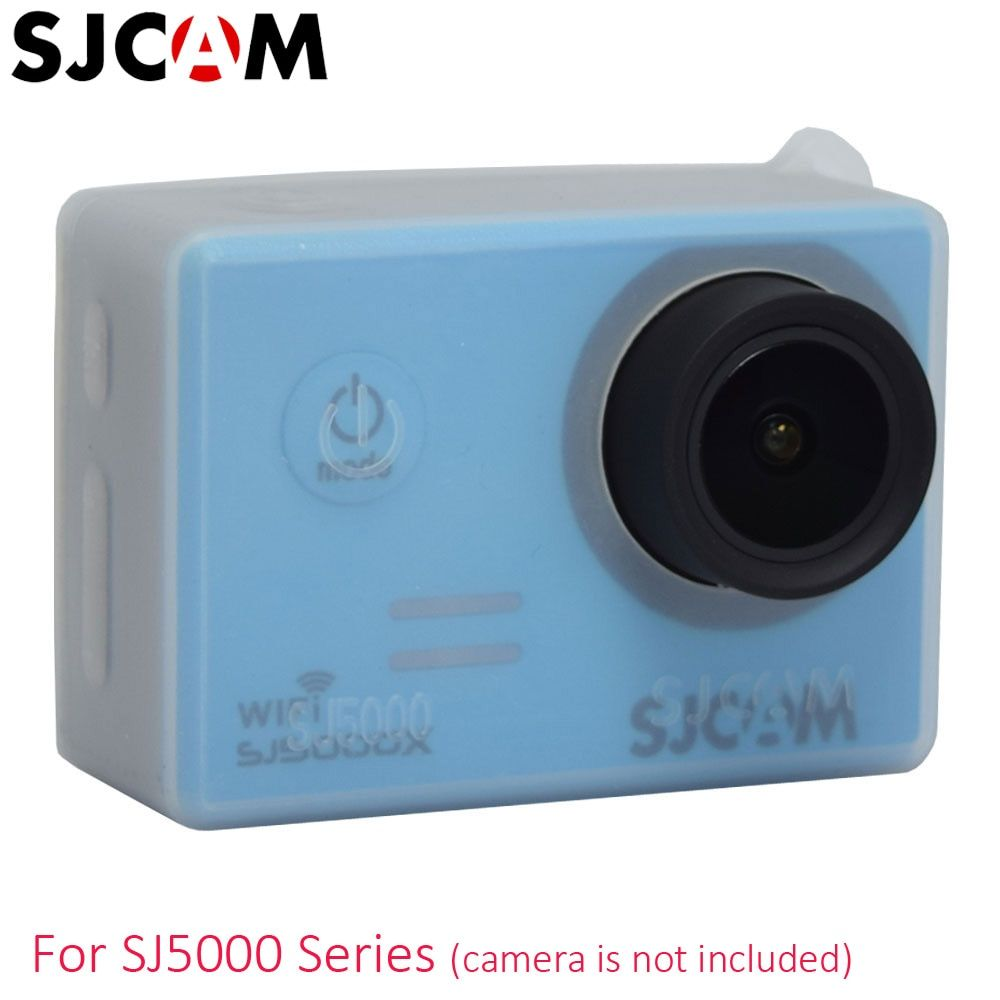 Original SJCAM Silicone Case Camera Protective Cover Jacket For SJ5000 Wifi SJ5000X 4K SJ5000 Plus Sports Action Video Cameras
