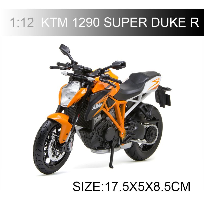 MAISTO KTM 1290 SUPER DUKE R motorcycle model 1:12 scale Motorcycle Diecast Metal Bike Miniature Race Toy For Gift Collection