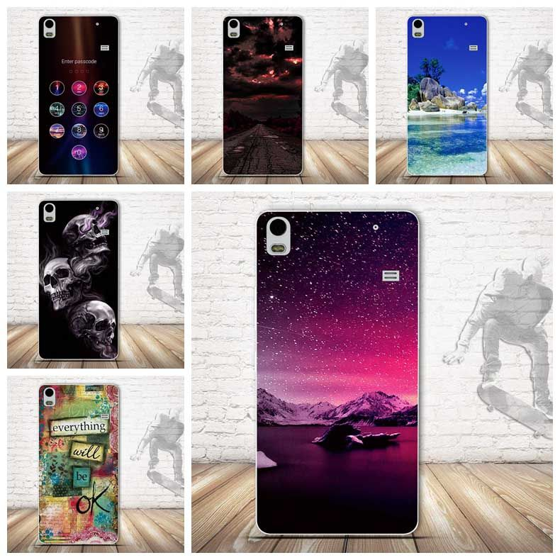 Luxury Back Painting Cover Case for Lenovo A7600 Case Back Soft TPU Cover for Lenovo S8 A7600 A 7600 Silicon Cases Covers Funda