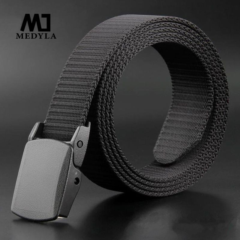 medyla Good Quality Nylon Belts for Men Belt Casual Style Male Strap Tactical Belts Ceinture Homme Dropshipping