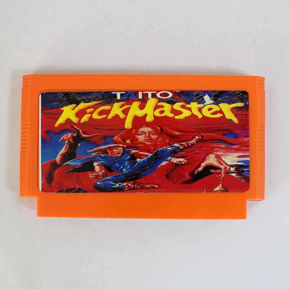 Kick Master 60 Pin Game Card For 8 Bit Subor Game Player