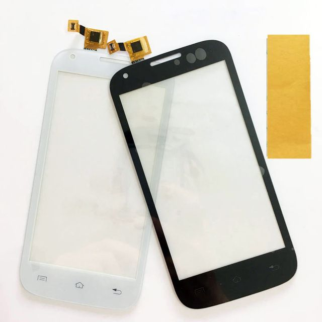 4.5'' Touch Screen Digitizer White For Fly IQ4406 IQ 4406 ERA Nano 6 touchscreen Replacement Touch Panel Lens Front Glass Lens