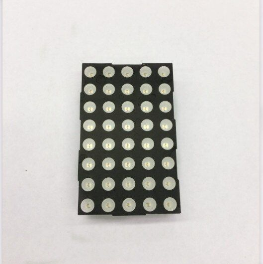 LED Dot Matrix Display 5x8 5mm Red Common Cathode LED display 2058AS 10pcs