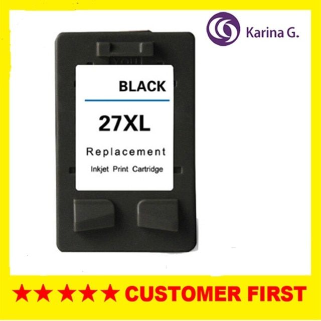 1PCS For HP 27 Black Ink Cartridge For HP27 for HP Deskjet 3320 3322 3323 3325 3420 3535 3550 3650 3744 3745 3845