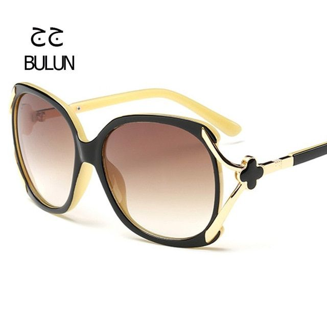 BULUN 2017 High Quality Butterfly Sunglasses Women Designer Vintage Driving Sun Glasses Female UV400 Oculos De Sol Feminino