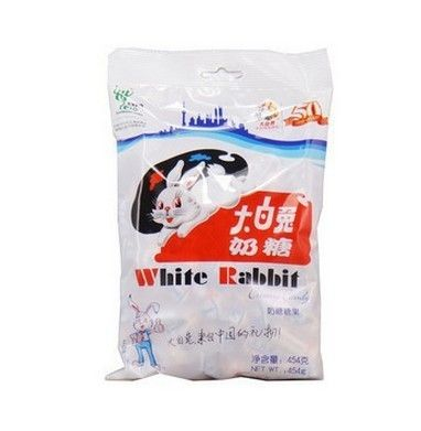 Hot sale 227g White Rabbit Candy Chinese Traditional Original/Milk Tasty Yummy Sweet  Candy Free Shipping