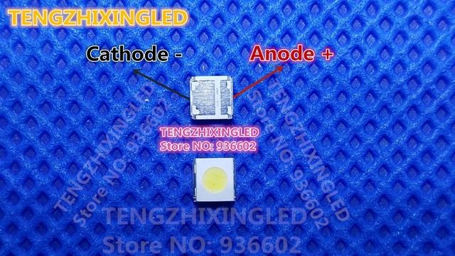 WOOREE  LED LCD TV Backlight   High Power LED  LED Backlight   1.85W  3V  3535  Cool white  TV Application WM35E1F-YR07-eB