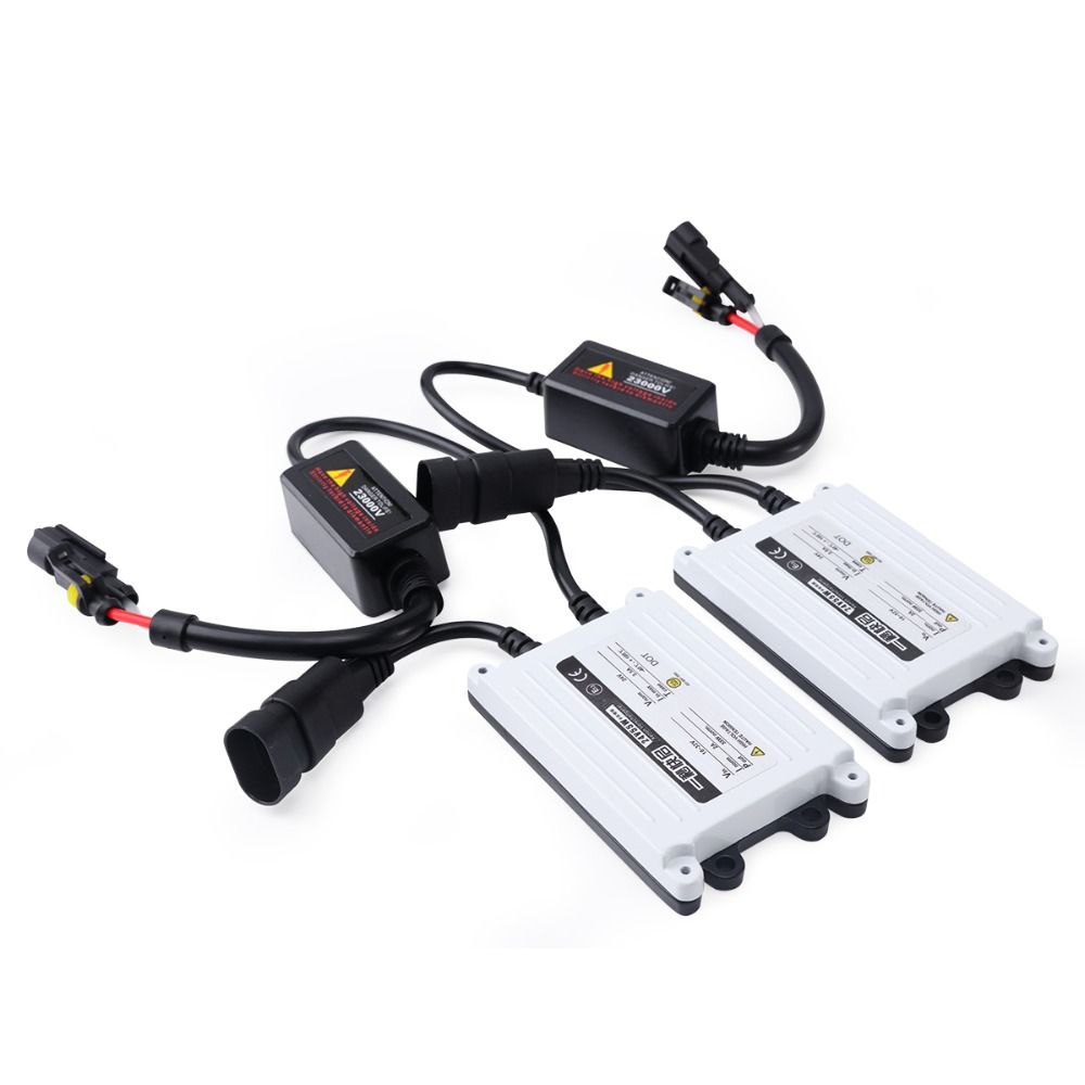 2pcs AC xenon 55w hid ballast car light source for lamp H7 55w ballast H4 H3 H1 H11 H13 9004 9005 9006 xenon ballast 55w