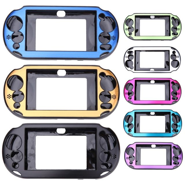 8 Colors Aluminium Metal Skin Protector Hard Protective Case Cover Shell Box for Sony PlayStation PS Vita 2000 PSV