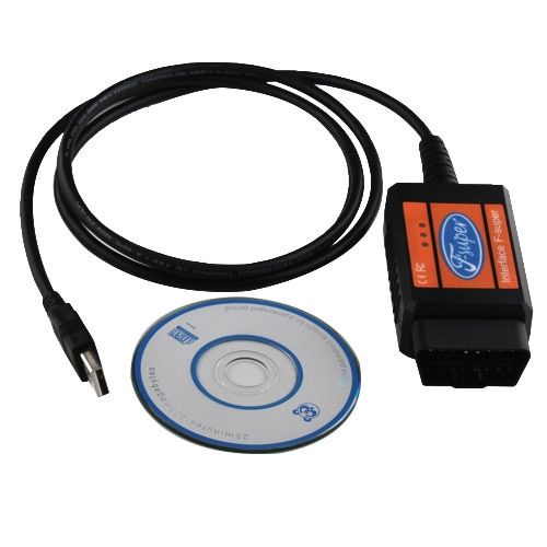 USB Car Diagnostic Code Reader Scanner Scan Tool Cable for Ford+free shipping