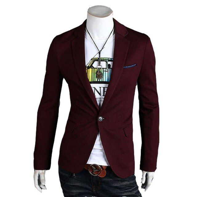 2016 new arrival Hot Sale Blazers Men's Stylish Slim Fit Design Suit Jackets  Long Sleeve Outwear ;men blazer A89
