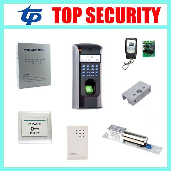 ZK F7 biometric fingerprint time attendance and access control system fingerprint door access control system with free software