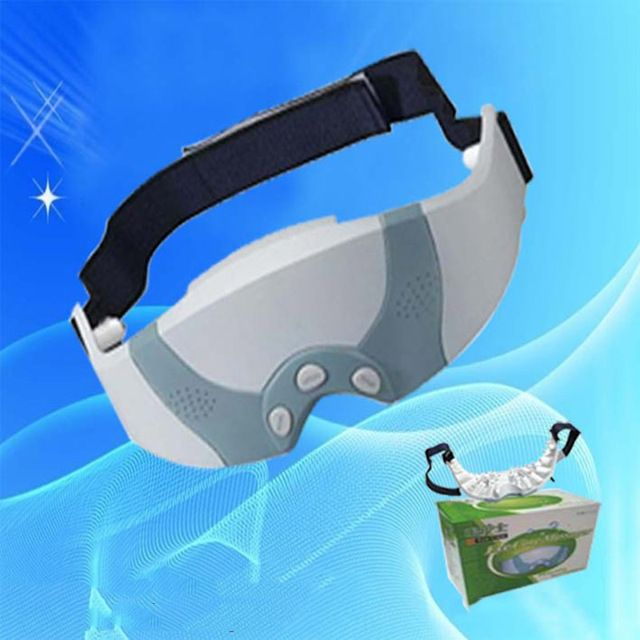 2018 New Arrival Mask Migraine DC Electric Massager Tool Care Forehead Eye Relax Eye Relaxation Mask Eye Massage For Health Care