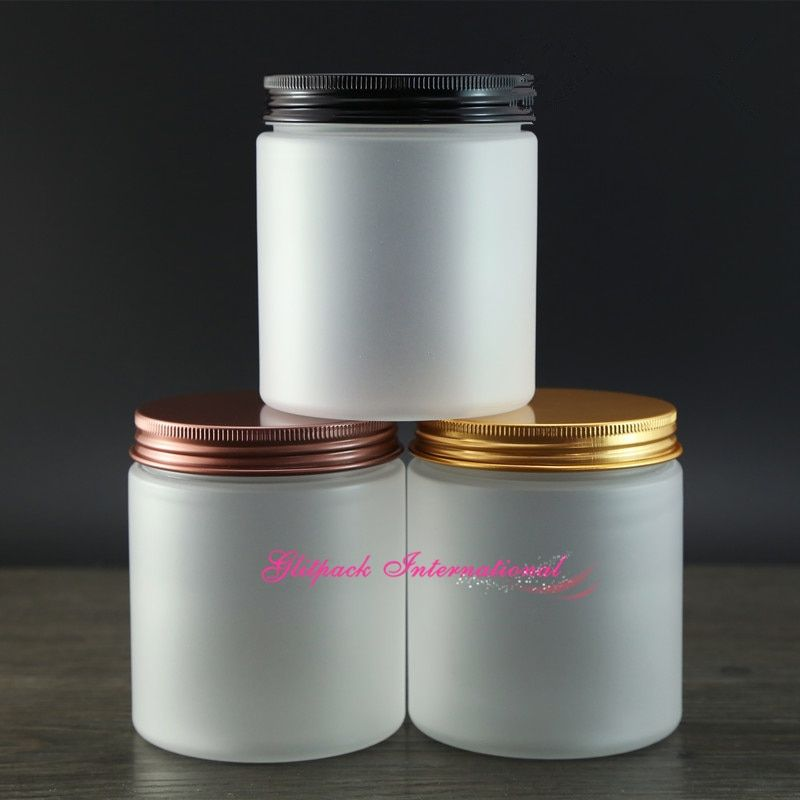 30pcs/lot 250g 8oz PET Plastic Frosted packaging containers for cosmetics,empty lotion jars 250ml beautiful cosmetic packaging