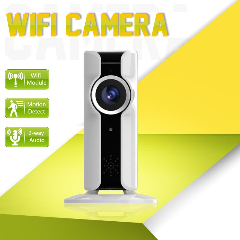 VR Camera Wifi Mini Panoramic 180 Degree Fisheye Lens 720P HD 1080P Security 10m Night Vision Smartphone View P2P Wifi IP Camera