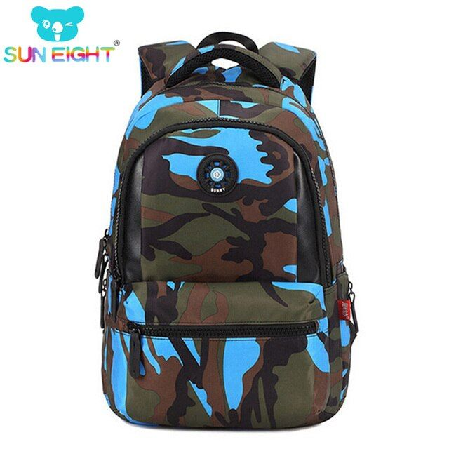 Fashion Camouflage Kid Backpack Bag School Bags Travel Backpack Bags For Cool Boy Military School Bags For Boy