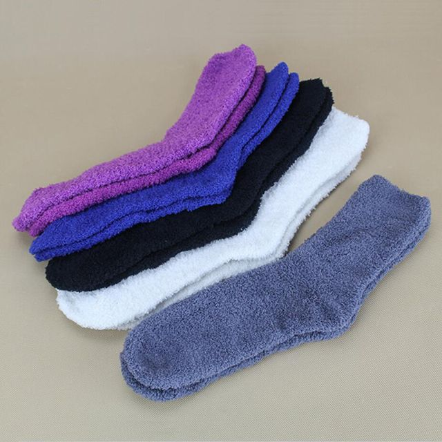 2016 Fall Winter Fashion Men/Women Socks Soft Casual Warm Boot Socks For Male/Female Ladies Cosy Indoor Floor Slippers Sock XP35