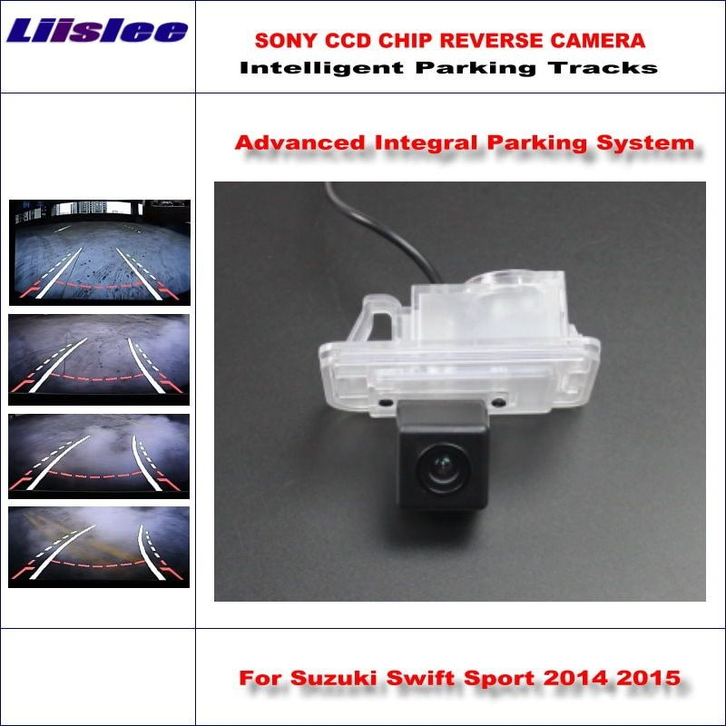 Liislee Rear Camera For Suzuki Swift Sport 2014 2015 Intelligent Parking Tracks Backup Reverse Dynamic Guidance Tragectory