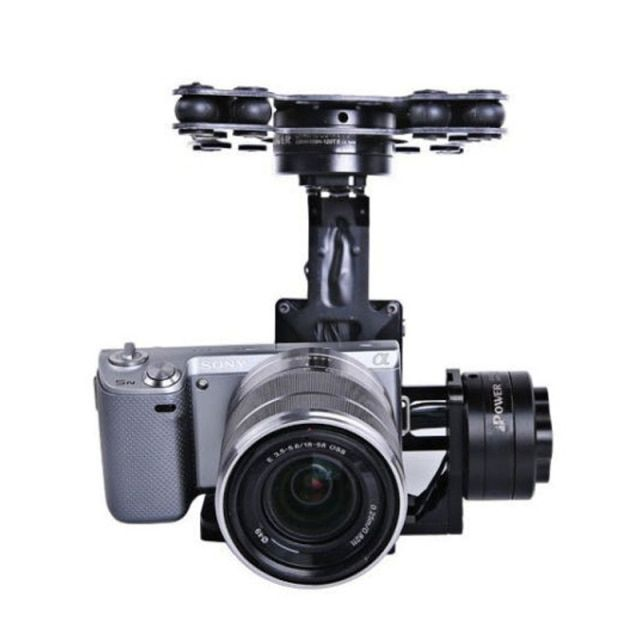 MOY 3-Axis Brushless Gimbal Camera Mount Stabilizer with 32bit Alexmos Controller For  NEX5/7 BM