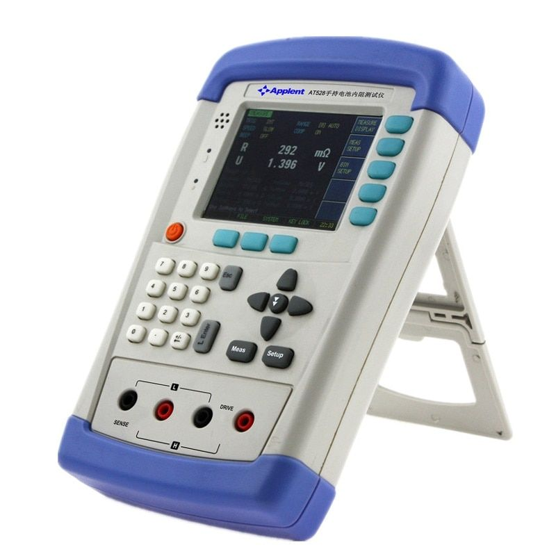 AT528 Handheld Battery milliohm  Tester, AC Resistance Meter and Battery Resistance Tester  Free shipping