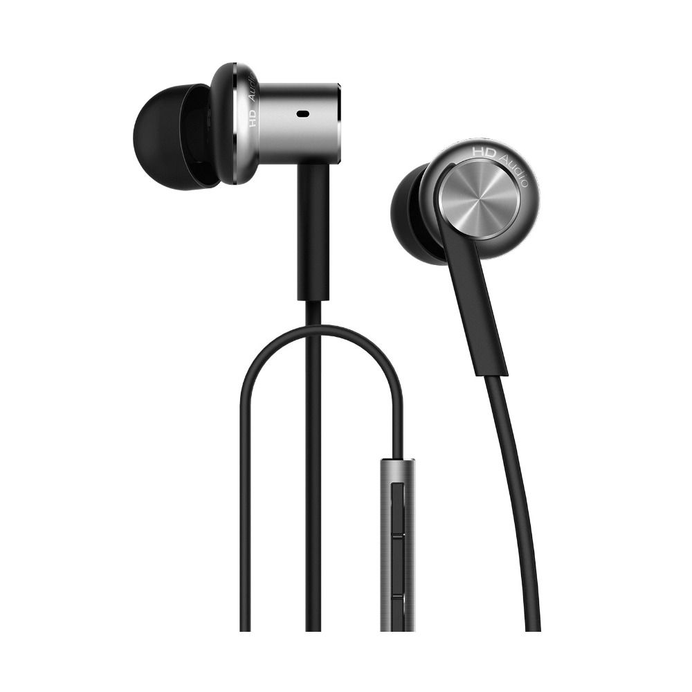 Original Xiaomi Hybrid Earphone 1More Mi Headphones Headset 2 Unit In-Ear Circle Iron Mixed Piston 4 for Iphone Samsung LG HTC