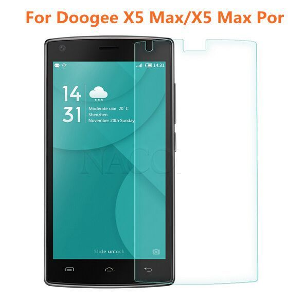 Doogee X5 Max Tempered Glass High Quality Screen Protector Film For Dooge X5 Max Mobile Phone Protective Accessories