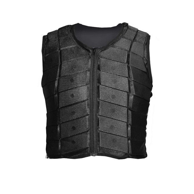 Horse riding equestrian protective safety Vest Waistcoat BLACK free shipping  Adult